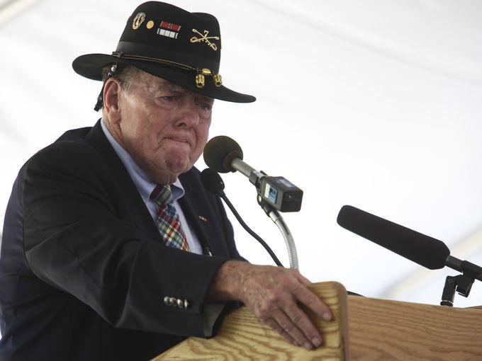 Joe Galloway - Kentucky Vietnam Veterans Memorial 50th Anniversary of Vietnam War